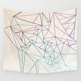 Between the Lines Wall Tapestry