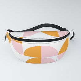 Puzzled Pink and Orange Fanny Pack