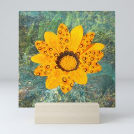 cheerful gerbera Mini Art Print