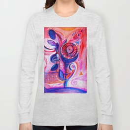abstract  #215 Long Sleeve T-shirt