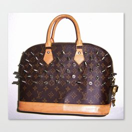 SCREWING LOUIS VUITTON MONOGRASMICALLY Canvas Print