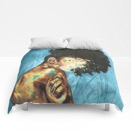 Naturally XXI Blue Comforters