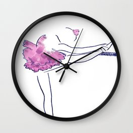 Little Ballerina Wall Clock