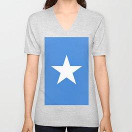 Somalia Flag Unisex V-Neck