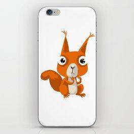 Stupid squirrel iPhone Skin