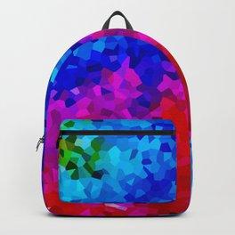 Rock Candy Blue Tie Dye. Backpack