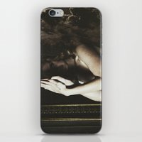 ultraviolence iPhone & iPod Skins featuring Born to die by UVGLOV