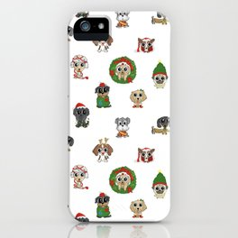 Christmas Puppies iPhone Case