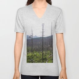 nature can and will regrow again Unisex V-Neck