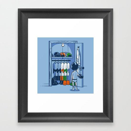 The Morning Routine Framed Art Print