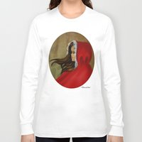 red hood Long Sleeve T-shirts featuring Red Riding Hood by Alannah Brid