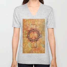 The Passion By Saribelle Rodriguez Unisex V-Neck