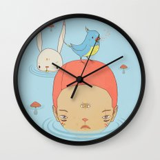 COME BACK HOME Wall Clock