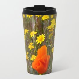 Patches of Gold Travel Mug