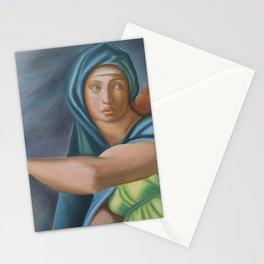 Sibila Delphica. Sistine Chapel. Michael Angelo. Stationery Cards