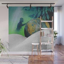 Underwater Planet Wall Mural