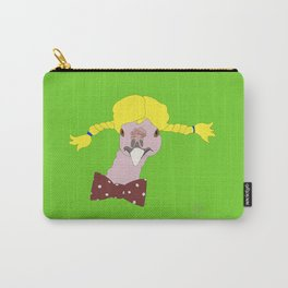 Spunky Turkey Yellow Hair GB Carry-All Pouch
