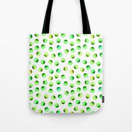 Green Polka Dots Tote Bag