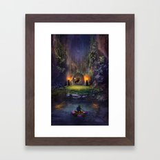 A Terrible Fate Framed Art Print