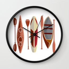 Paddle Passion Wall Clock