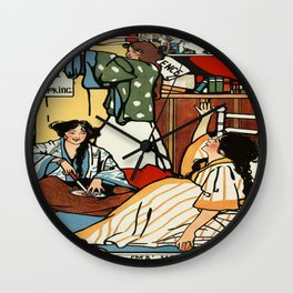 Vintage poster - Wee Sma Hours Wall Clock