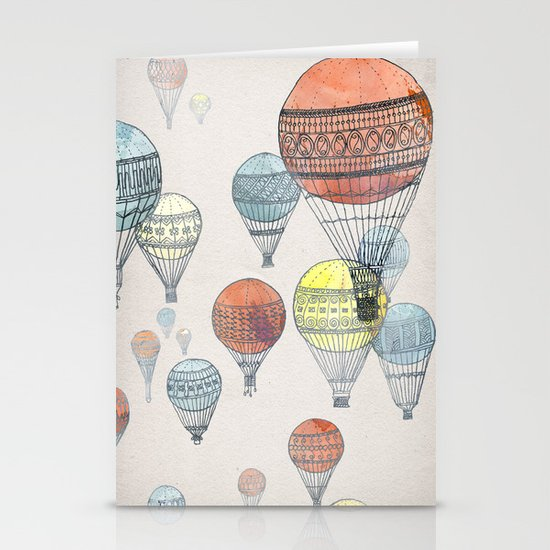 Voyages Stationery Cards
