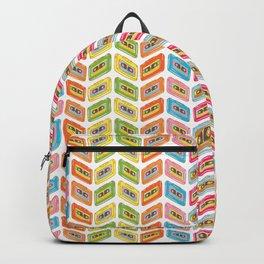 Music tape color fantasy Backpack