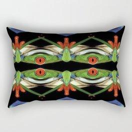 One eyed frog monster Rectangular Pillow