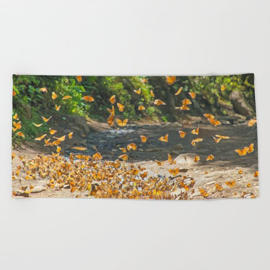 FLIGHT PATH Beach Towel