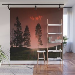 Afterglow Wall Mural