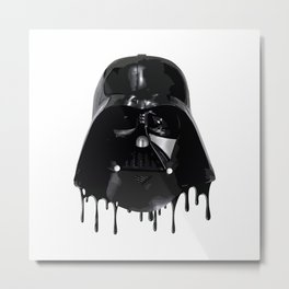 Dripping Vader Metal Print