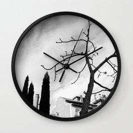 Muerte (paisaje involuntario) Wall Clock