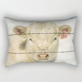 Moo Are So Beautiful Rectangular Pillow