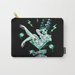 Bride of Frankenstein in a Martini Glass Carry-All Pouch