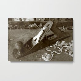 Carpentry tools Metal Print