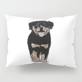 Rottweiler Love Pillow Sham