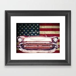 Chevrolet Bel Air 1957 Framed Art Print