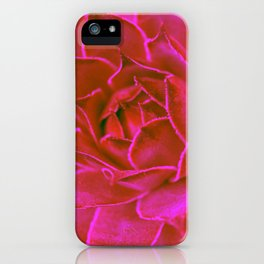 Suculenta Roja iPhone Case