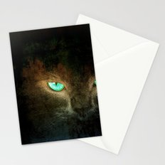 Green Eye - for iphone Stationery Cards