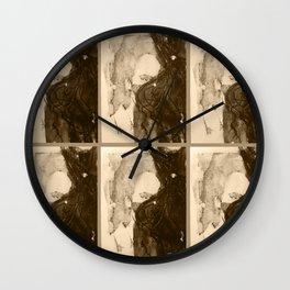 TedWarhol No.1 Wall Clock