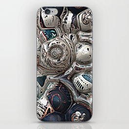 Three Dimensional Reflections iPhone Skin