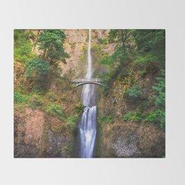 Chasing Waterfalls Throw Blanket