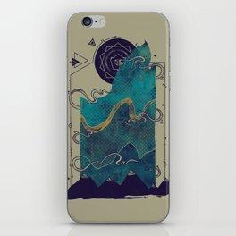 Northern Nightsky iPhone Skin