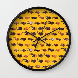 Rhino and Stag Wall Clock