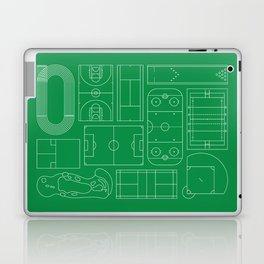 Sport Courts Pattern Art Laptop & iPad Skin