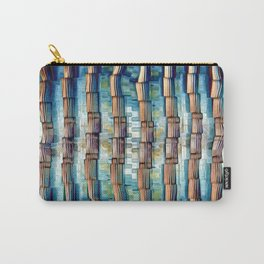 Abstract Architectural Pillars Carry-All Pouch