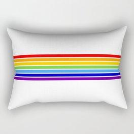 russia jewish flag Rectangular Pillow