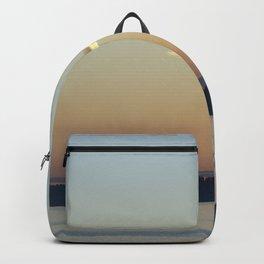 Sunset Cloud Minimalism Backpack