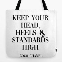coco quote Tote Bag