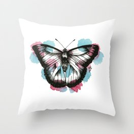 Butterfly Fusion Throw Pillow